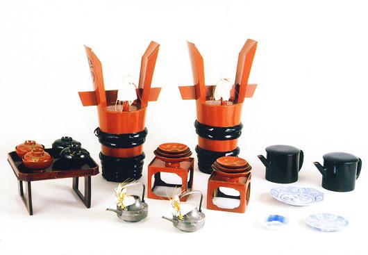 膳椀倉の道具