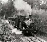 青梅鉄道2号機関車